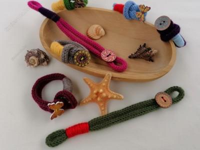 DIY kreatív karkötő készítő szett
